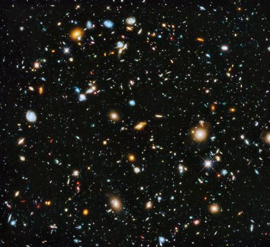 champ ultra profond Hubble