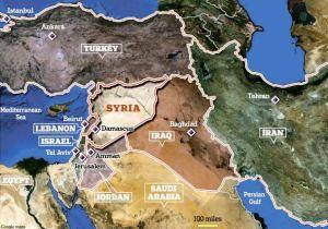 siria syria harta