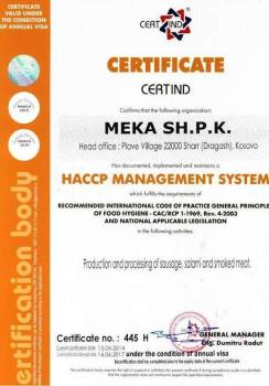 certifikata meka dragash