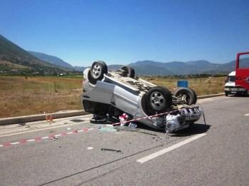 aksident rruga kombit