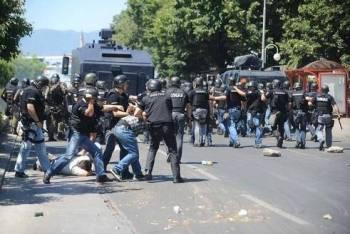 protesta shqiptaret maqedoni