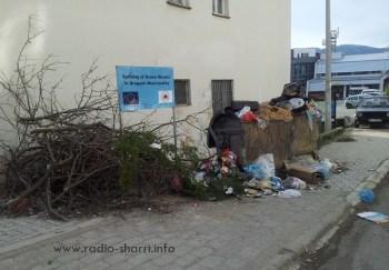 dragash mbeturinat kontejnerat