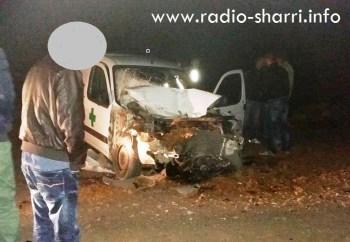 aksident mejdan automjeti