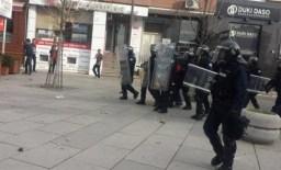 paraburgim per protestuesit