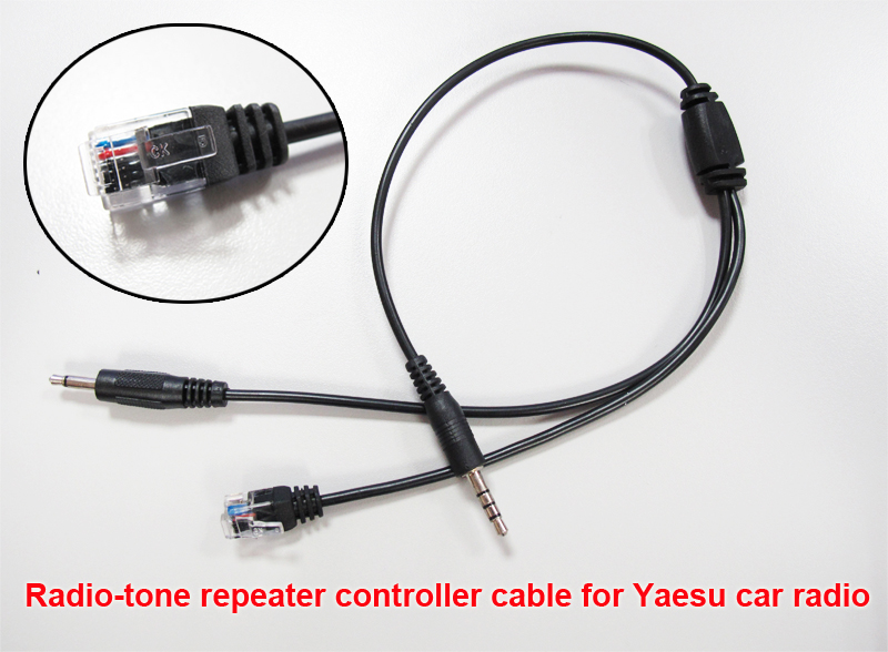 Radio-tone adaptor cable for TYT TH-9000
