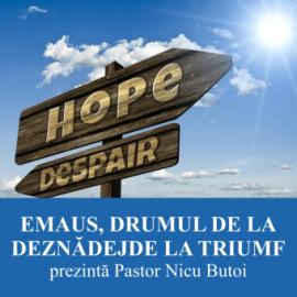 EMAUS, DRUMUL DE LA DEZNADEJDE LA TRIUMF   Pastor Nicu Butoi