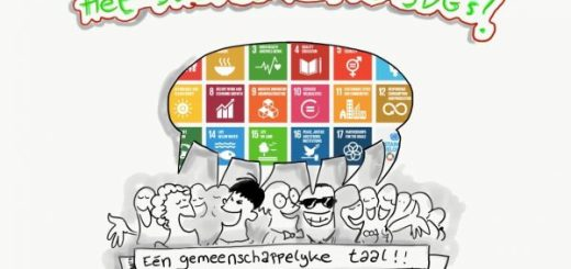 Cartoon SDG - Sustainable Development Goals
