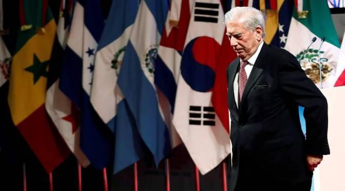 La voz del autor – Marioa Vargas Llosa en el Congreso Internacional de la Lengua Española