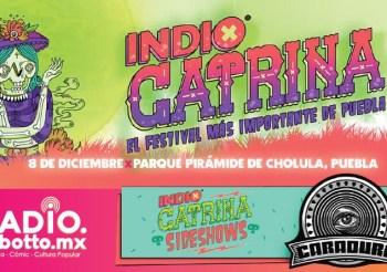 INDIO CATRINA SIDESHOWS 2018 EN EL CARADURA