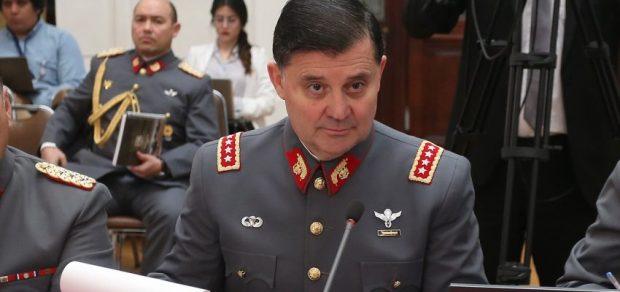 Comandante en jefe del Ejército, Ricardo Martínez Foto: Agencia Uno