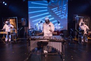 Photo: Multicultural Sonic Evolution (MuSE) presents GLANK: created by composer / instrument builder Paul H. Rudolph; performance photographed: Saturday June 1, 2013 at 3pm at The Secret Theatre; 4402 23rd St; Long Island City, NY. Photograph: © 2013 Richard Termine PHOTO CREDIT - Richard Termine