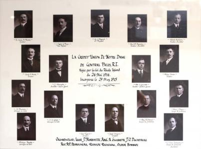 The original Board of Directors from 1915.