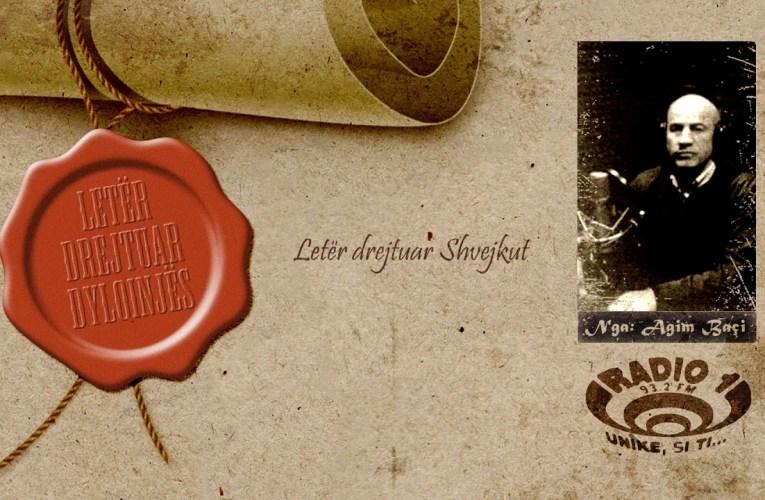 Letër drejtuar Dylqinjës   Letër drejtuar Shvejkut
