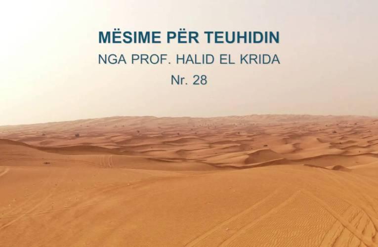 TEUHIDI 29 Prof. Halid El Krida