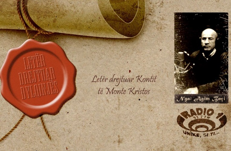 Letër drejtuar Dylqinjës   Letër drejtuar Kontit të Monte Kristos