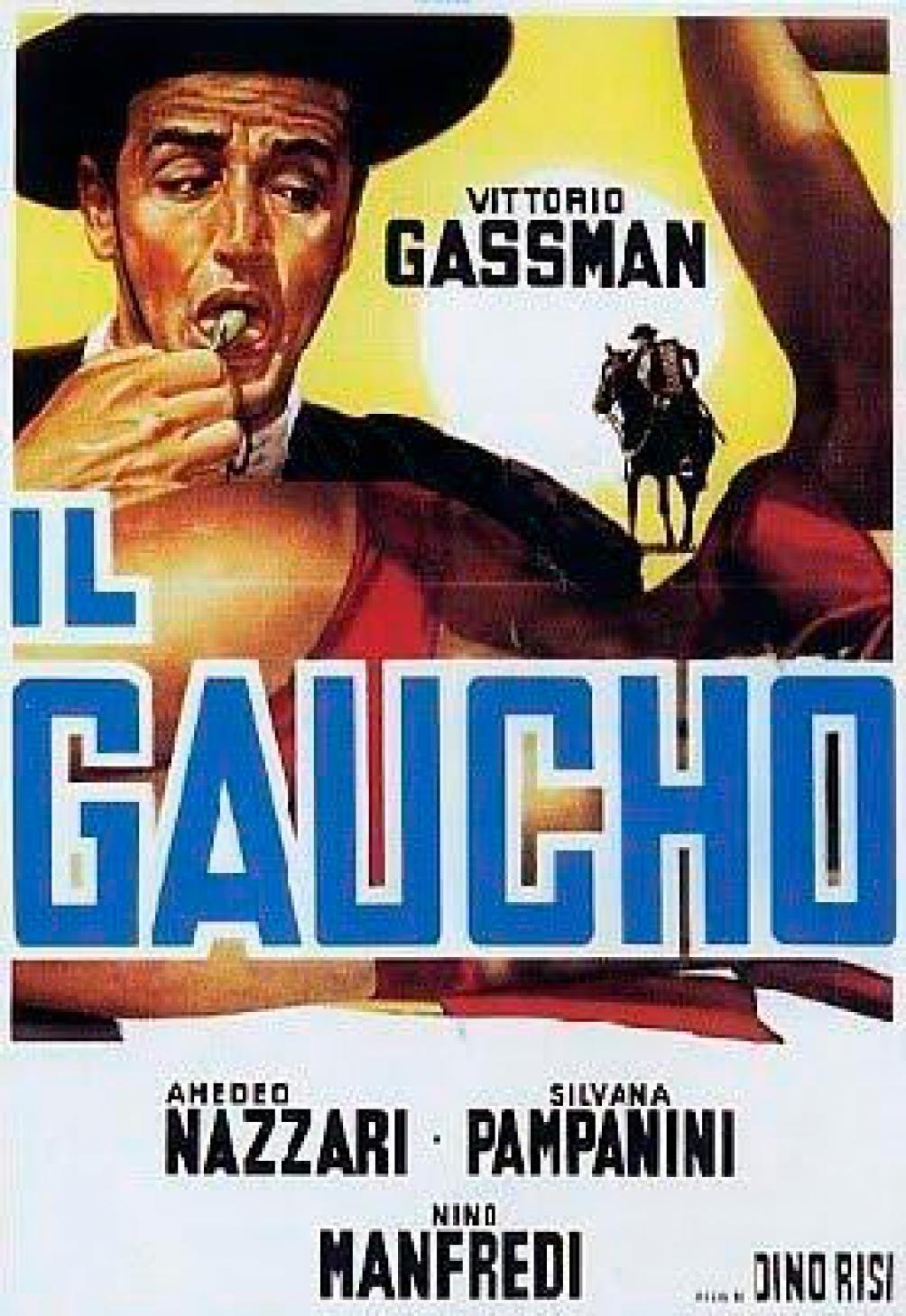 """""""Il gaucho"""" que aquí se llamó """"Un italiano en la Argentina"""" (1965)"""