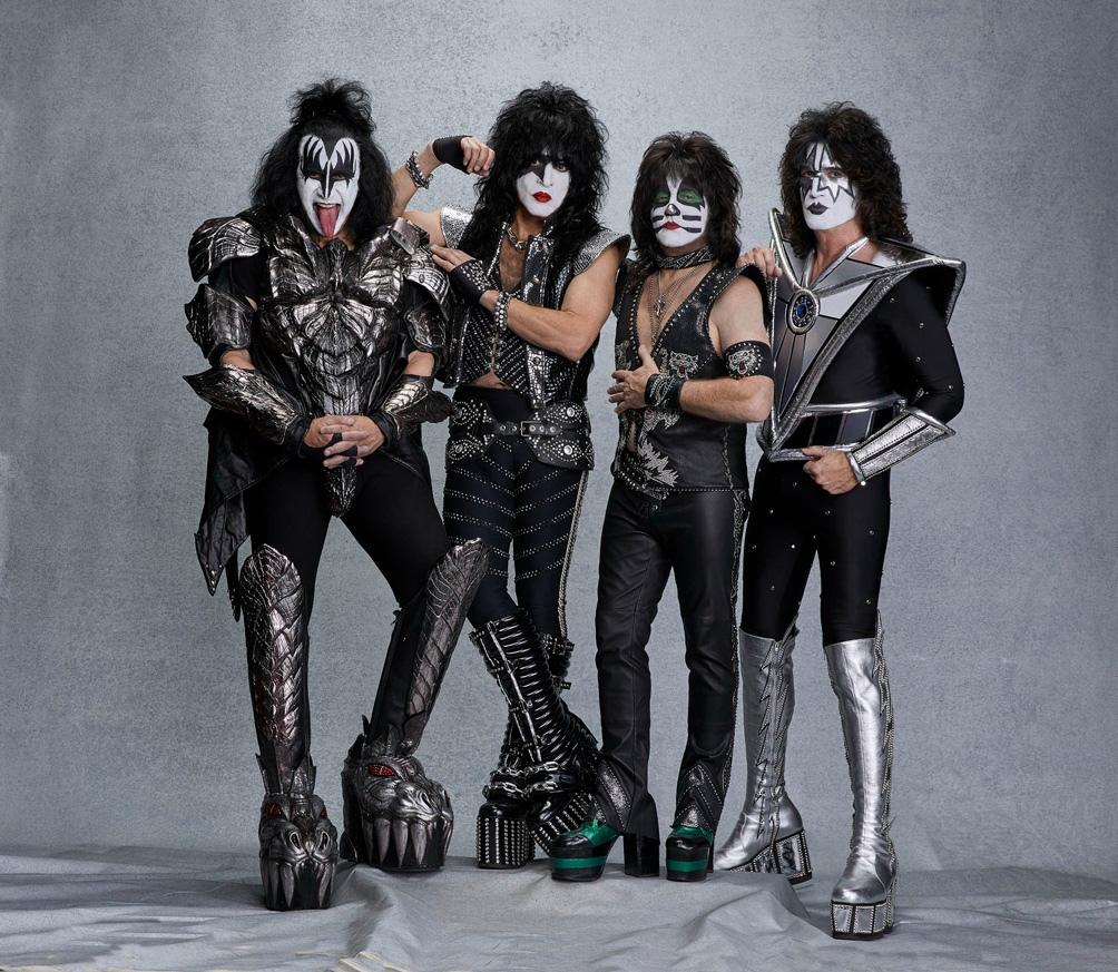 La banda icónica por sus caracterizaciones.