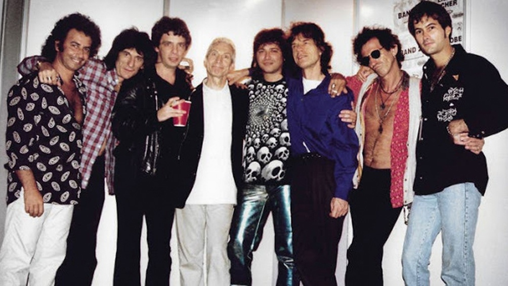 Watts y los otros Stones con Los Ratones Paranoicos