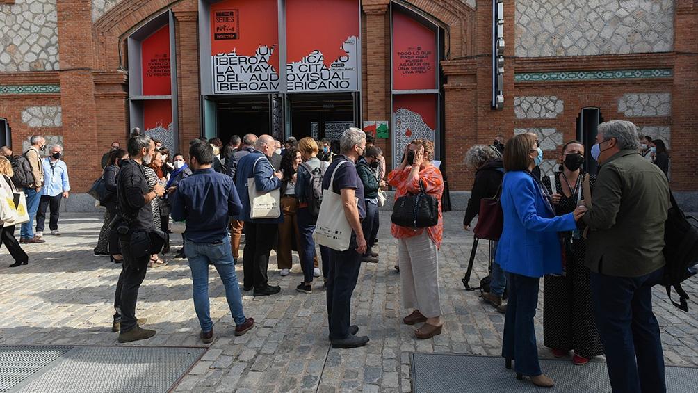 Con más de 1.700 acreditados y 200 medios de comunicación presentes, el evento tuvo lugar en el Matadero de Madrid. Foto: Prensa Platino Iberseries Industria.