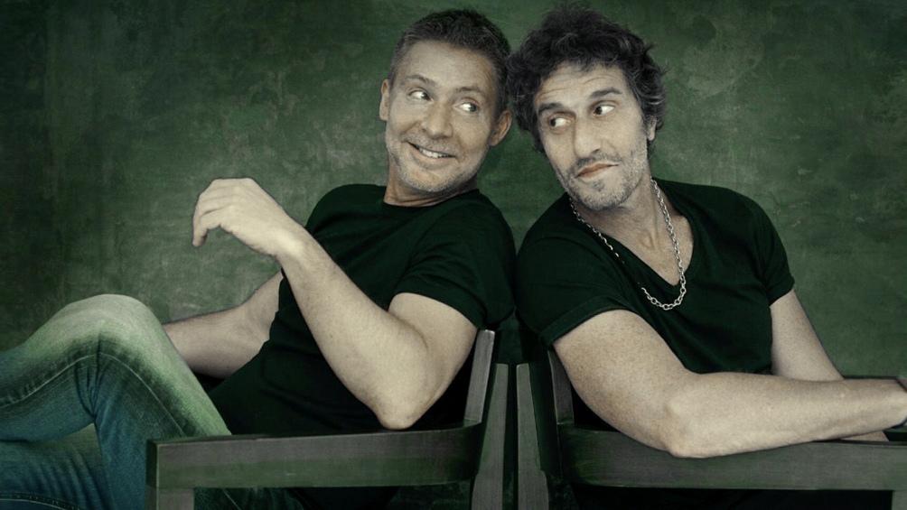 """Adrian Suar y Diego Peretti, los dos dirigids por Mauricio Dayub en """"Inmaduros"""" (Foto: Prensa)"""