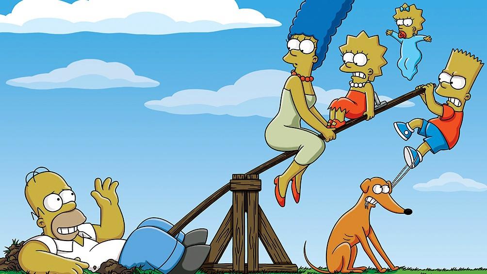 """""""Los Simpson"""", llega con su última temporada a Star+."""