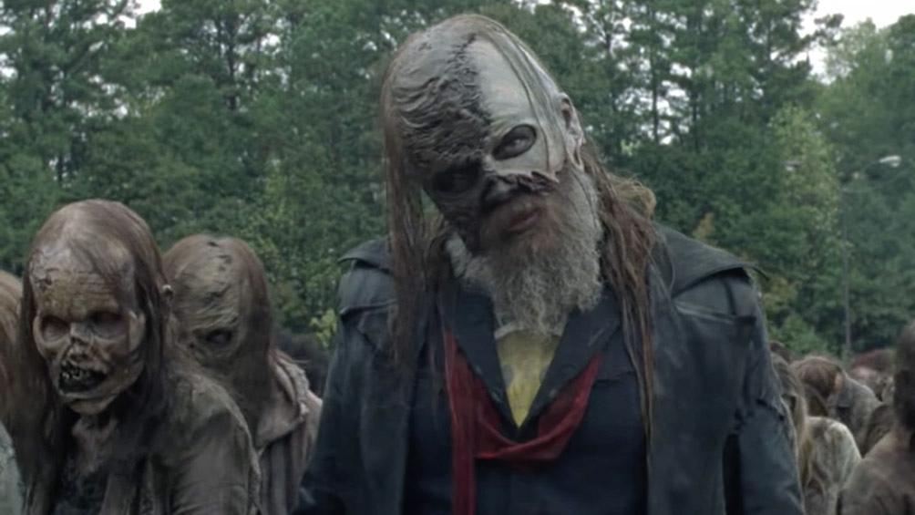 """""""The Walking Dead"""". una de las exitosas propuestas de la señal."""