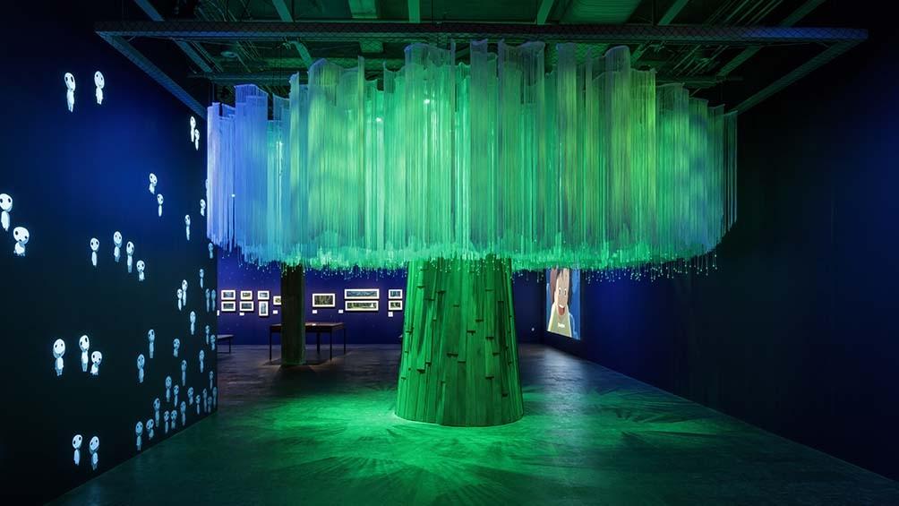 El emblemático espacio vivencial que reproduce uno de los diseños de Miyazaki (Foto: AMPP/Daniel Gomez)