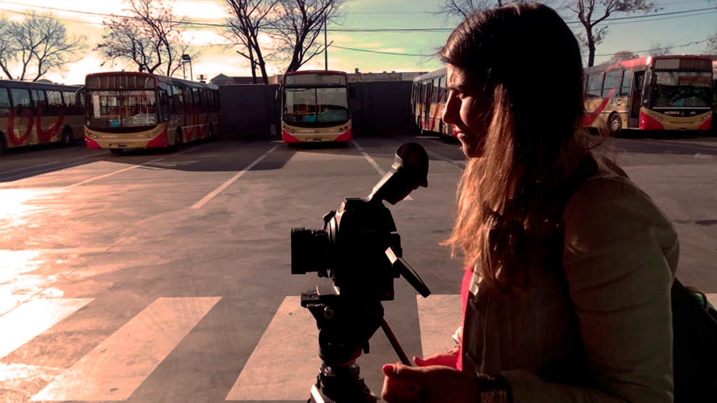 Lucia Casado, integrante de Silbando Bembas, el grupo responsable del documental.