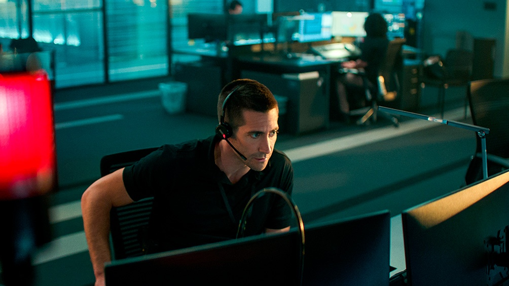 """Culpable"", con Jake Gyllenhaal. (Netflix)"