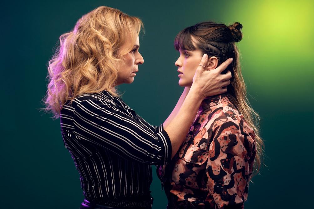 El personaje de Eugenia Bonel -la psiquiatra- ayuda a dar seguridad Érica.