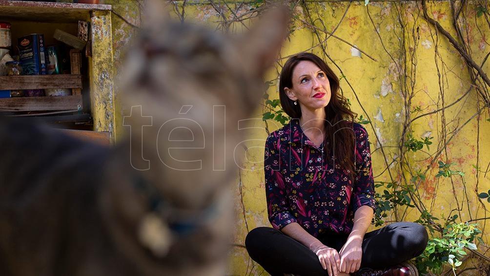"""""""Estoy agradecida de que no me faltó trabajo porque doy clases de canto"""", asegura (Foto: Victoria Gesualdi)"""