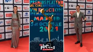 Martina Gusman y Rodrigo de la Serna en la gala de los Premios Platino