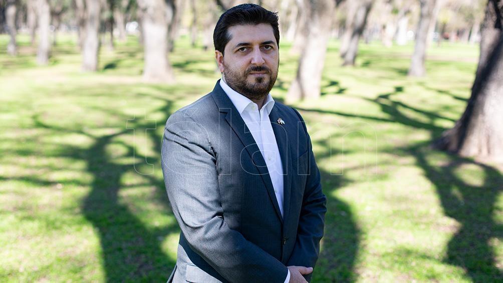 El embajador armenio en la Argentina, Hovhannés Virabyan.
