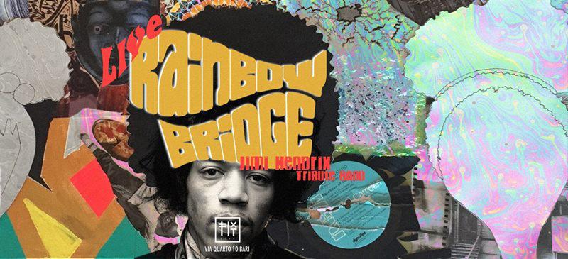 3 febbraio 2018 Rainbow Bridge Jimi Hendrix tribute band a Chieti