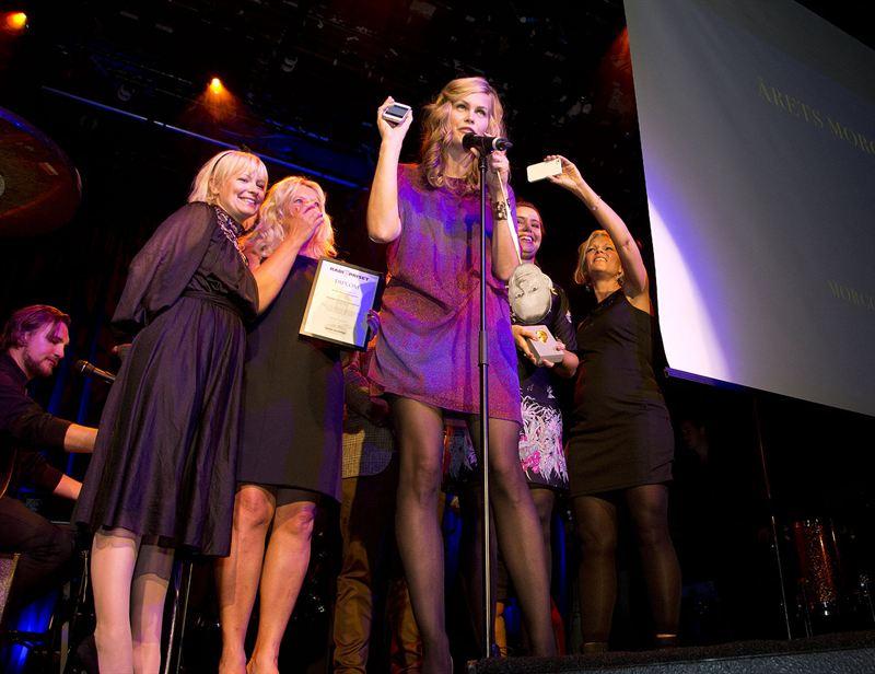 P4 Stockholm vann Årets Morgonprogram 2013 Foto: Micke Grönberg/Sveriges Radio