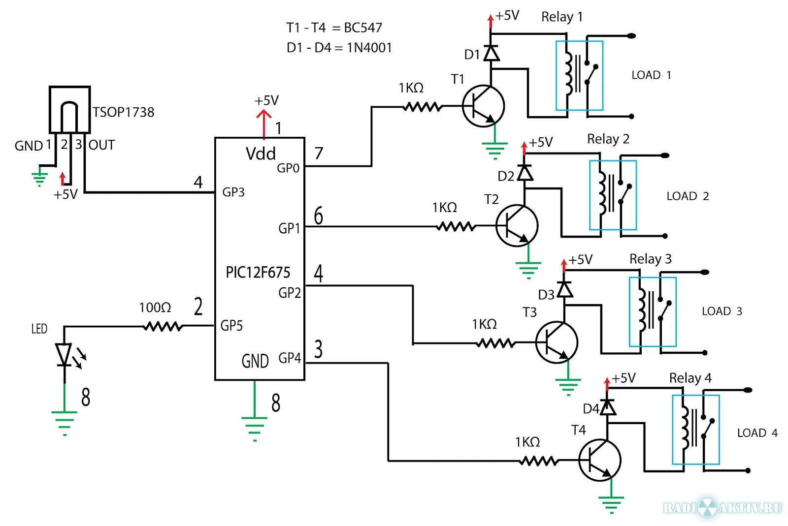 Isolation Relay Control Wiring Diagram