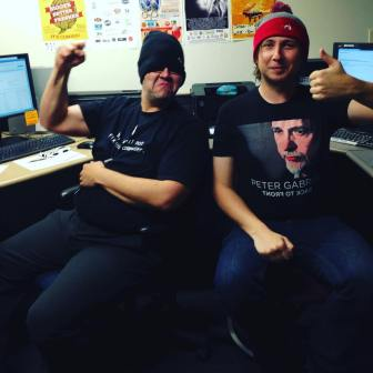 We're an hour into It's Now Right Now, and we had another #beanie sighting on phone volunteers Doug and Tyler! The time is NOW to donate to Radio Boise's fund drive. Call (208) 258-2072, visit radioboise.us or stop by in person at 1020 W. Main St. in the basement! #radioboise #boise #idaho #communityradio #KRBXFallRadiothon