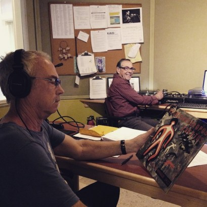 John and special guest Patrick from Strange Brew (6-8pm Sundays) are jazzing up @radioboise's Spring Radiothon. Help them reach their show goal by calling (208) 258-2072, visiting http://radioboise.us or stopping by the station at 1020 W. Main St. Ste. 50 (downstairs in the Alaska Building)! #radioboise #KRBXSpringRadiothon