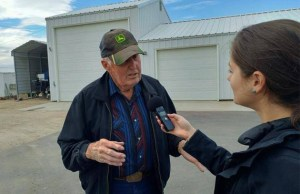 Olivia Weitz Interviews Farmer in Marsing