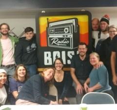 Fall Radiothon 2019 wrap group group photo