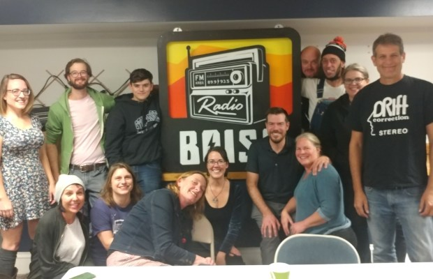 Fall Radiothon 2019 wrap group group photo
