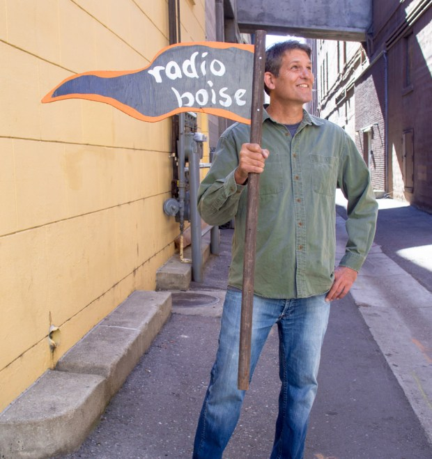 Photo of Radio Boise's Wayne Birt