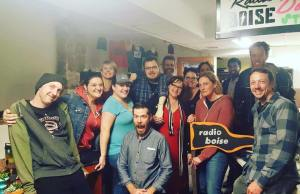 Radio Boise celebrates the close of Fall Radiothon!