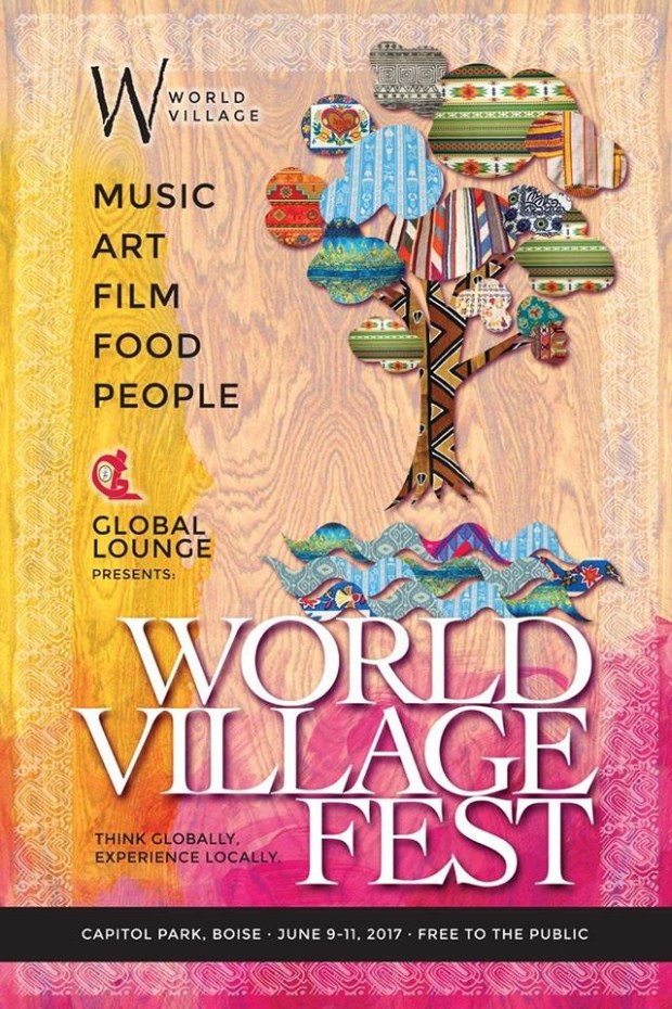 World Village Fest 2017 Poster