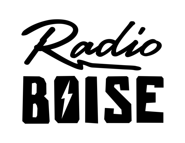 Radio Boise Vinyl Sticker