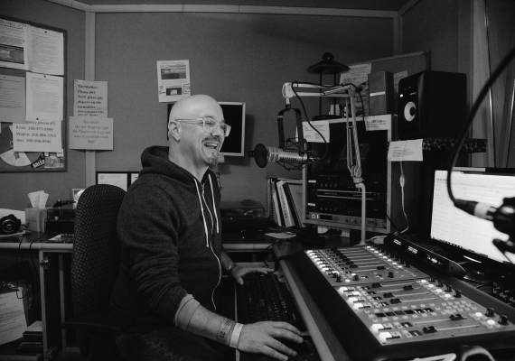 DJ Dusty C hosts The Uncertain Radio Programme on Radio Show.