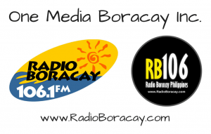 Radio Boracay Stations of One Media Boracay Inc. Philippines