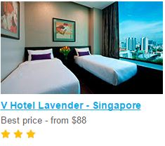 Boracay Travel Hotels: V Hotel Lavender Singapore