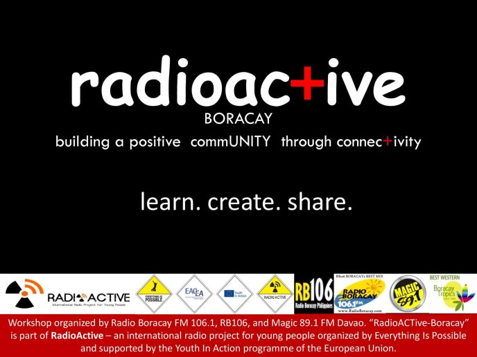 Radio Boracay Projects - RadioActive Boracay