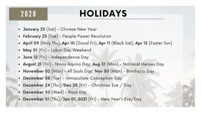 Radio Boracay Image 2020 Holidays